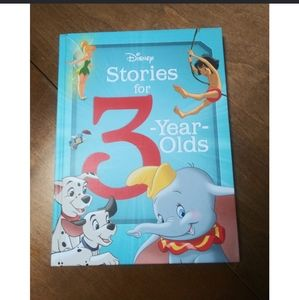 🆕 DISNEY STORIES FOR 3-YEAR-OLDS - Hardcover